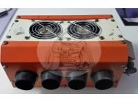Печка-обогреватель салона автомобиля 12V 8 выходов (25*22*11см)