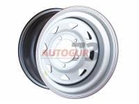 Диск колесный стальной УАЗ R15 5x139.7 8x15 ET-19 А17 (серебристый) OFF-ROAD Wheels