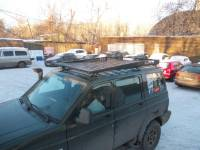 Багажник экспедиционный (штампованный) - УАЗ Патриот KDT