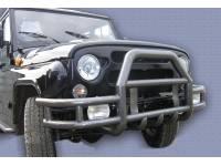 Бампер передний Тайга с кенгурином на УАЗ 469/Хантер